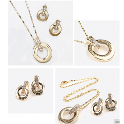 Set Bijuterii ST23 Diamond Roman Woman Set Bijuterii, Set